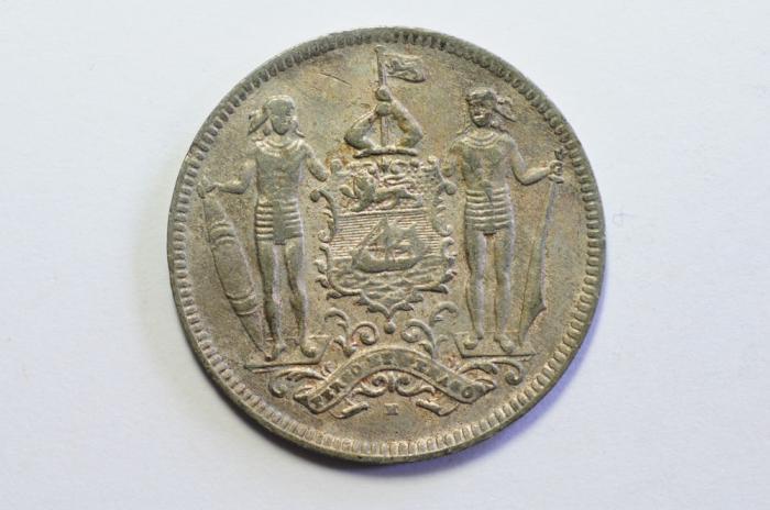World Coins - British North Borneo 2 1/2 Cents 1903 H  VF