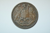World Coins - India; East India Company 1/4 Anna 1835