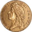 World Coins - Great Britain 1688 James II Gold Guinea PCGS AU-53 RARE!!!!