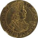World Coins - RARE Ducat Poland Danzig 1660 DL UNC NGC - one of a very few graded that high