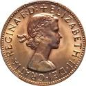 World Coins - Australia 1960-P Elizabeth II Proof Penny PCGS PR-65 RD