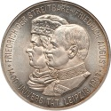 World Coins - Germany 1909-A Saxony Friedrich August III Silver 5 Mark NGC MS-65