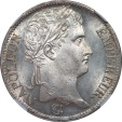 World Coins - France 1813-A Napoleon Silver 5 Francs NGC MS-64