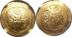 World Coins - Constantine X Ducas (AD 1059-1067) AV histamenon nomisma NGC MS 5/5 - 5/5