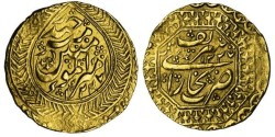 World Coins - Russia,Turkestan,Manghits of Bukhara,Tola,AH 1227 (1812) GOLD, SCARCE in High Grades==PCGS AU-58