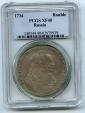 World Coins - Russia, SCARCE Rouble 1734, Anna Ioanovna, PCGS XF-40