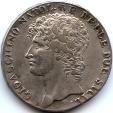 World Coins - Italy 1810 Sicily Gioacchino Napoleone Murat Piastra Dodici Carlini Rarity R2!!