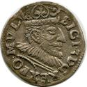 World Coins - 3 grosus 1593 Poland Sigismund III Vaza Crown 3 grossus XF