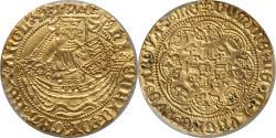 World Coins - Great Britain Henry VI (1422-1430) gold Half Noble PCGS AU-55