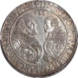 World Coins - Germany Brandenburg-Franconia 1539 Georg and Albrecht II Taler NGC MS-63