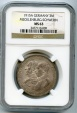 World Coins - Germany,Mecklenburg-Schwerin,SCARCE 3 silver marks,1915A, NGC MS-63,UNC,LOW MINTAGE