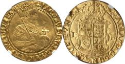 World Coins - Great Britain James I Gold Unite (1607-09) NGC AU-58