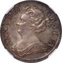 World Coins - Great Britain 1708 Anne Shilling NGC MS-63