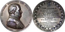 World Coins - France Napoleon I Silver Medal  issued by Louis  Philippe I in 1840