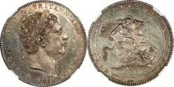 World Coins - Great Britain 1819 George III Silver Prooflike Crown NGC MS-65