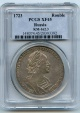 World Coins - Russia, Peter The Great, Rouble, 1723, NGC XF-45 SCARCE
