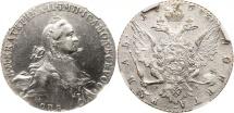 World Coins - Russian rouble 1763 spb NGC AU Details