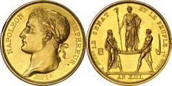 World Coins - France (1804) Napoleon I Coronation Gold Medal PCGS AU-55 Gold Shield