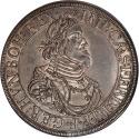 World Coins - Germany Augsburg 1639 Heinrich V von Kroningen Taler NGC MS-62