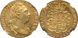 World Coins - Great Britain 1786 George III gold Guinea NGC MS-63 TOP GRADE!!