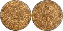 World Coins - Great Britain Henry VI (1422-30) Gold Noble PCGS AU-55