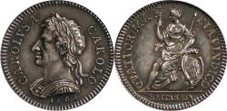Ancient Coins - Great Britain 1665 Charles II Proof Silver Farthing Pattern NGC PF-63