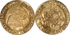 World Coins - Great Britain James I Gold Unite (1607-09) Coronet mm