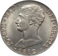 World Coins - Spain 1812 M-AL Joseph Napoleon 20 Reales PCGS MS-63