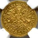 World Coins - Germany,Frankfurt, Gold Ducat, NGC MS-64, CHOICE UNC