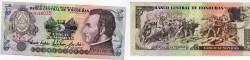 World Coins - Honduras, 5 Lempiras, 1993