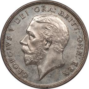 World Coins - Great Britain 1927 George V Silver Proof Crown PCGS PR-65