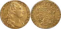World Coins - Great Britain 1775 George III Gold Guinea PCGS AU-58