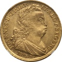 World Coins - Brazil 1813-R Joao Prince Regent gold 6400 Reis NGC MS-63