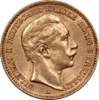 World Coins - Germany Prussia 1905-A Wilhelm II Gold 20 Mark
