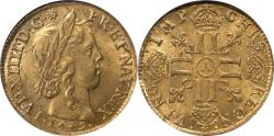 World Coins - France 1649-A Louis XIV  Gold Louis d'or a la meche longue NGC MS-64 HIGHEST GRADE!!