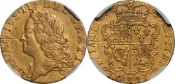 World Coins - Great Britain 1759 George II Gold Half Guinea NGC VF DETAILS