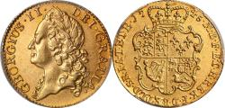 World Coins - Great Britain 1745 George II gold Guinea PCGS XF