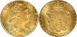 World Coins - Great Britain 1774 George III Gold Guinea PCGS MS-62