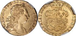 World Coins - Great Britain 1773 George III Gold Guinea NGC AU-58