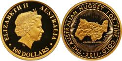 World Coins - 2011 Elizabeth II 1 oz Gold Proof 100 Dollars PCGS PR-70 Deep Cameo, Mintage:1500 !!