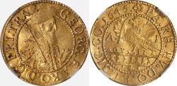 World Coins - Transylvania 1646-AI Georg I Rakoczi Gold Ducat NGC MS-61