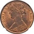 World Coins - Great Britain 1862 Victoria Penny NGC MS-65 RB