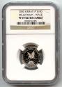 World Coins - 2000 PLATINUM KIRIBATI $100 NGC PROOF 69 ULTRA CAMEO MILLENNIUM PEACE