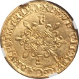 World Coins - France Francois I (1515-1547) gold Ecu d'or au soleil NGC MS-63