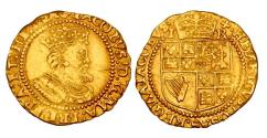 World Coins - England RARE Gold Crown James I (1603-1625) XF