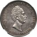 World Coins - Norway 1855 Oscar I Speciedaler NGC AU Details
