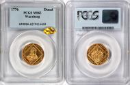 World Coins - Germany Würzburg 1776 Adam Friedrich von Seinsheim gold Ducat PCGS MS-62