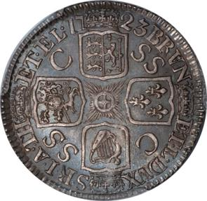 World Coins - Great Britain 1723-SSC George I Silver Shilling PCGS MS-63 UNDERGRADED!!