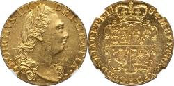World Coins - Great Britain 1784 George III gold Guinea NGC MS-63