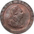 World Coins - Great Britain 1797 George III Penny PCGS MS-64 RB Secure Holder